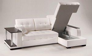 Конструкция углового дивана